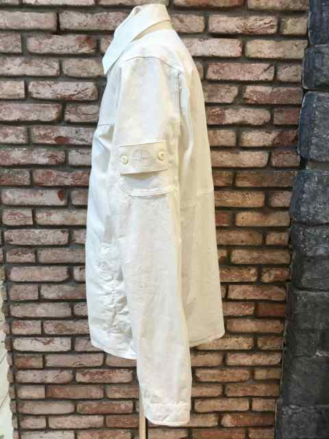 STONE ISLAND 116F3 GHOST PIECE WHITE