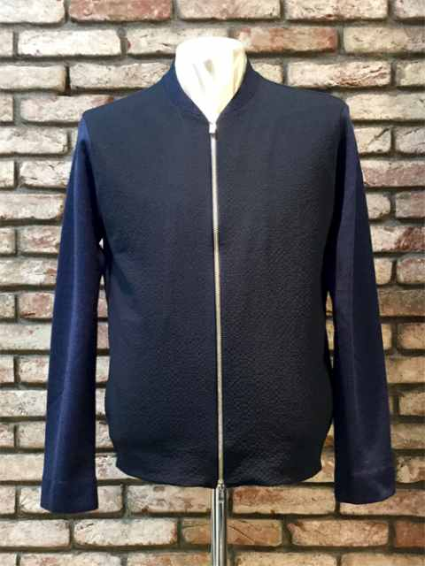 TOMORROWLAND Zip-Upブルゾン NAVY 18ss