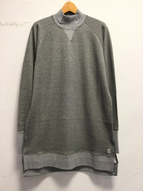 High-neck Sweat Pull-over L.GRAY 18AW