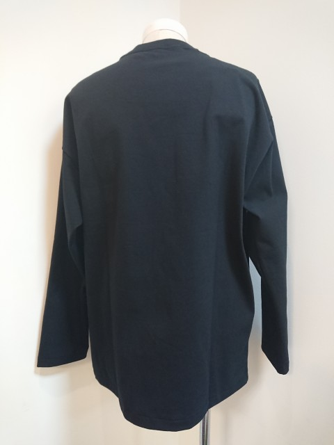 n.hoolywood LONG SLEEVE T-SHIRT BLK 19AW